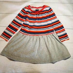 Baby Gap Multicolor Striped Flare Dress 3T